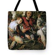 Peasants At The Market Tote Bag