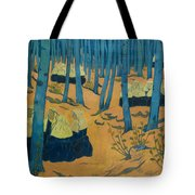 Peasants Gathered In A Sacred Wood_ Tote Bag