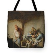 Peasants In The Interior Of An Inn Tote Bag