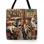 Peasants Paying Tithes By Pieter Bruegel I Tote Bag