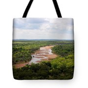 Pease On The River Tote Bag
