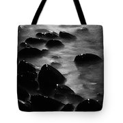 Pebble Beach By Moonlight Tote Bag