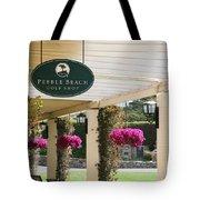 Pebble Beach Golf Shop  Tote Bag