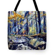 Pebble Creek Autumn Tote Bag
