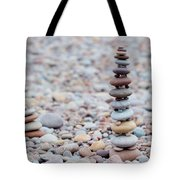 Pebble Stack II Tote Bag