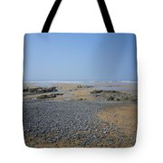 Pebble Strewn Beach Tote Bag