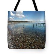 Pebbled Beach Denmark Tote Bag