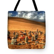 Pebblehenge Tote Bag by Rob Hawkins