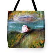 Pebbles At  The Stream Tote Bag by Augusta Stylianou