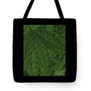 Pecan Tree Leaves Tote Bag