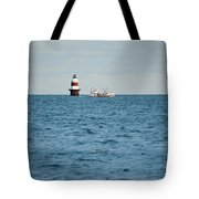 Peck Ledge Lighthouse Tote Bag