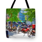 Pedal Taxis 1 Tote Bag