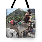 Peddler Of The Mountains Tote Bag