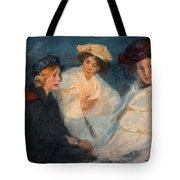 Peder Severin Kroyer, From The Beaches Of Skagen. Tote Bag