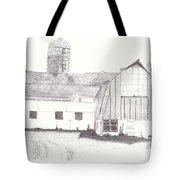 Pedersen Family Barn Tote Bag