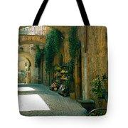 Pedestrian Walkway, Orvieto, Umbria Tote Bag