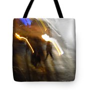 Pedestrians 4  6th Ave Series  Abstract Tote Bag