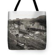 Pedro Miguel Locks, Panama Canal, 1910 Tote Bag