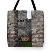 Peek Into The Past - Pompeii Tote Bag