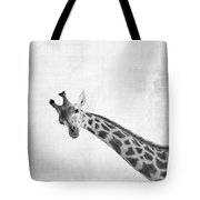 Peekaboo Giraffe Tote Bag
