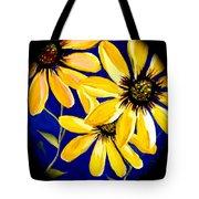 Peekaboo Sunflowers Tote Bag