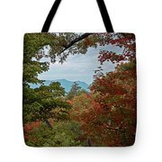 Peeking At The Smokies Tote Bag