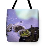 Peeking From The Pond Tote Bag