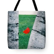 Peeking Tulip Tote Bag