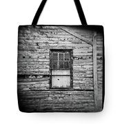 Peeling Wall And Cool Window At Fort Delaware On Film Tote Bag