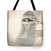 Peeping Alex Tote Bag