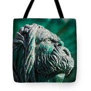 Peering Beyond The Waves Tote Bag