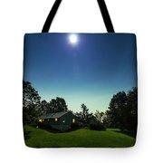 Pegasus And Moon Over The Shenandoah Valley Tote Bag
