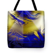 Pegasus From Above Tote Bag