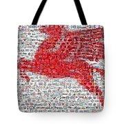 Pegasus Mosaic Tote Bag