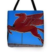 Pegasus Oil Sign Tote Bag