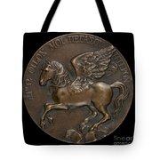 Pegasus Soaring Above Parnassus [reverse] Tote Bag