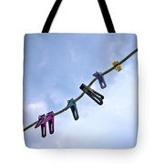 Pegging Out Tote Bag