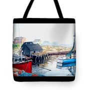 Peggy's Cove Harbour Tote Bag