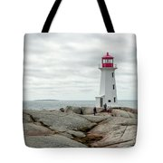 Peggys Cove Lighthouse 2 Tote Bag