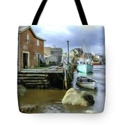 Peggys Cove Ns 001 Tote Bag