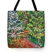 Fun With Peggys Garden Tote Bag