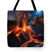 Pele - Volcano Goddess Tote Bag