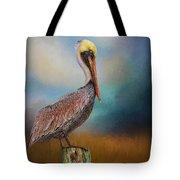 Pelican Blues Tote Bag