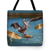 Pelican Crash Tote Bag