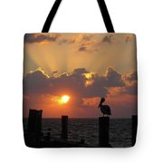 Pelican Dawn Tote Bag