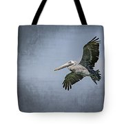 Pelican Flight Tote Bag by Carolyn Marshall