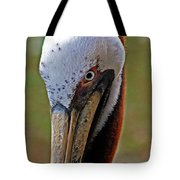 Pelican Head Tote Bag