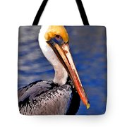 Pelican Head Shot Tote Bag