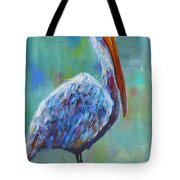 Pelican Tote Bag by Holly Donohoe