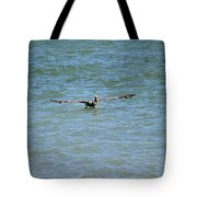 Pelican On The Move Tote Bag